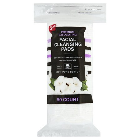 Walgreens Beauty Exfoliating Facial Cleansing Pads - 50.0 ea