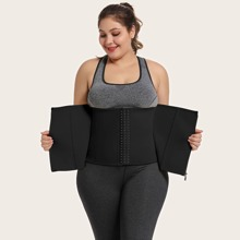 Plus Zip-up Waist Trainer
