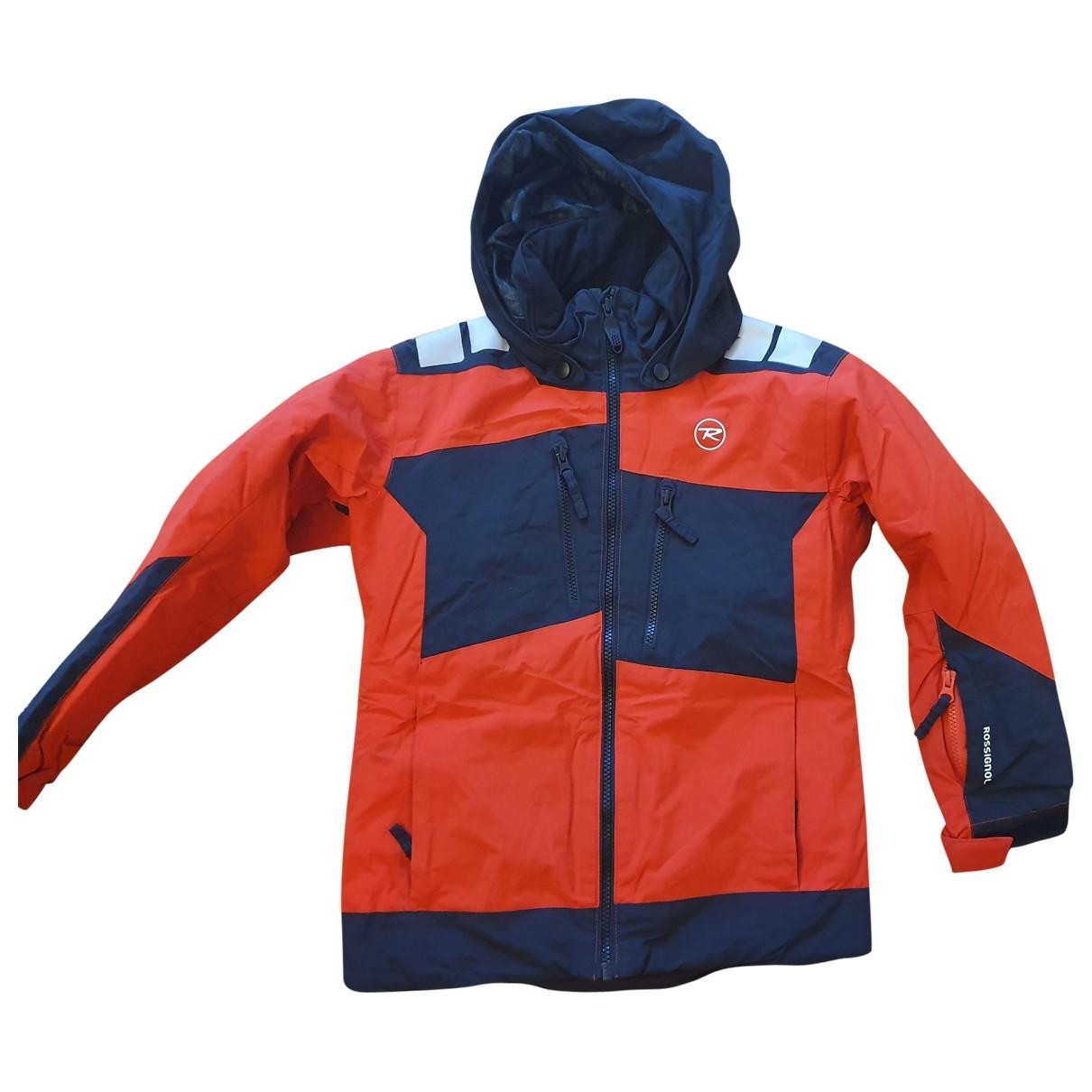 Rossignol - Blousons.Manteaux   pour enfant - rouge