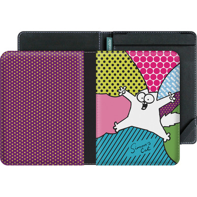 tolino vision 4 HD eBook Reader Huelle - Simon´s Cat Colourful Pattern von Simons Cat