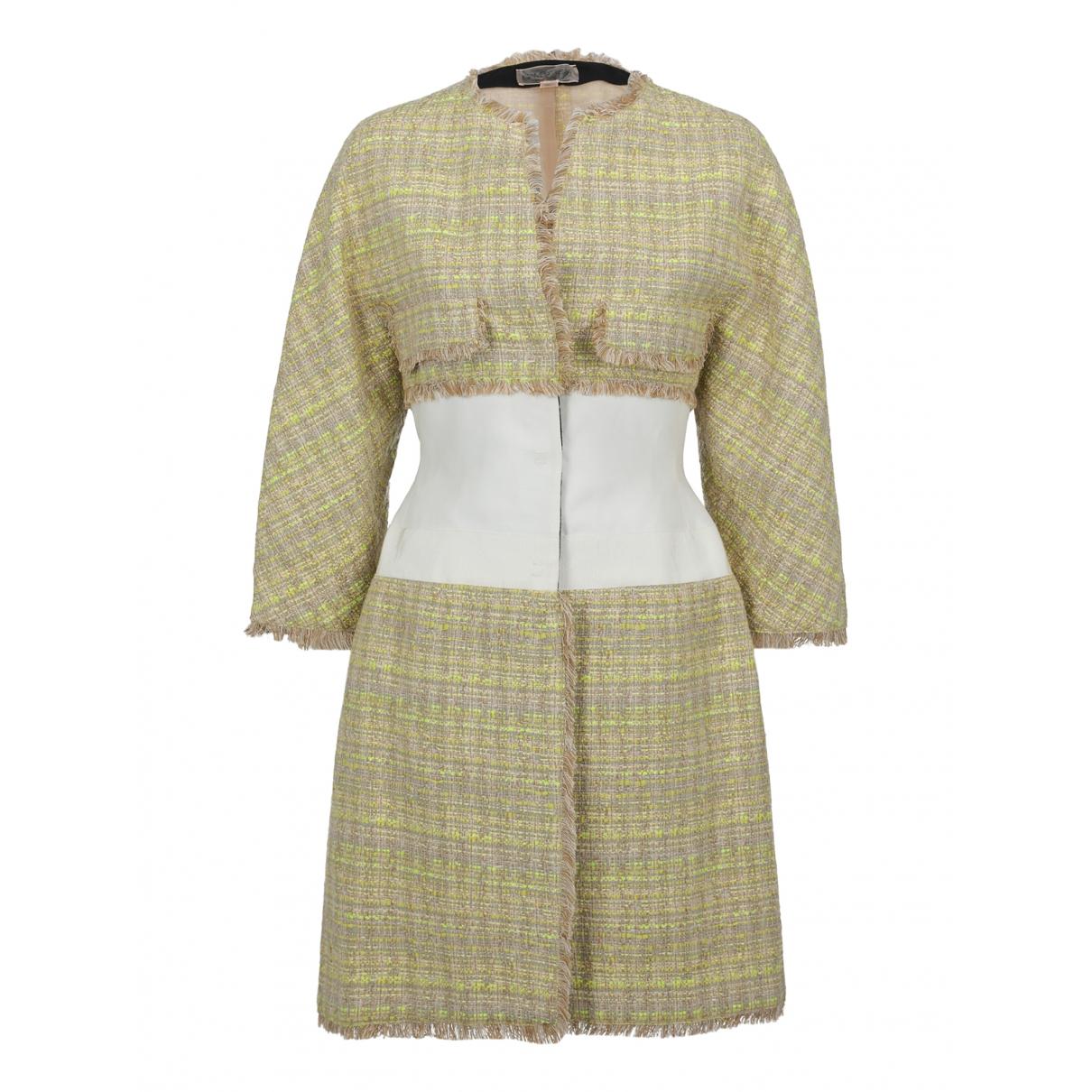 Giambattista Valli \N Yellow coat for Women 40 IT