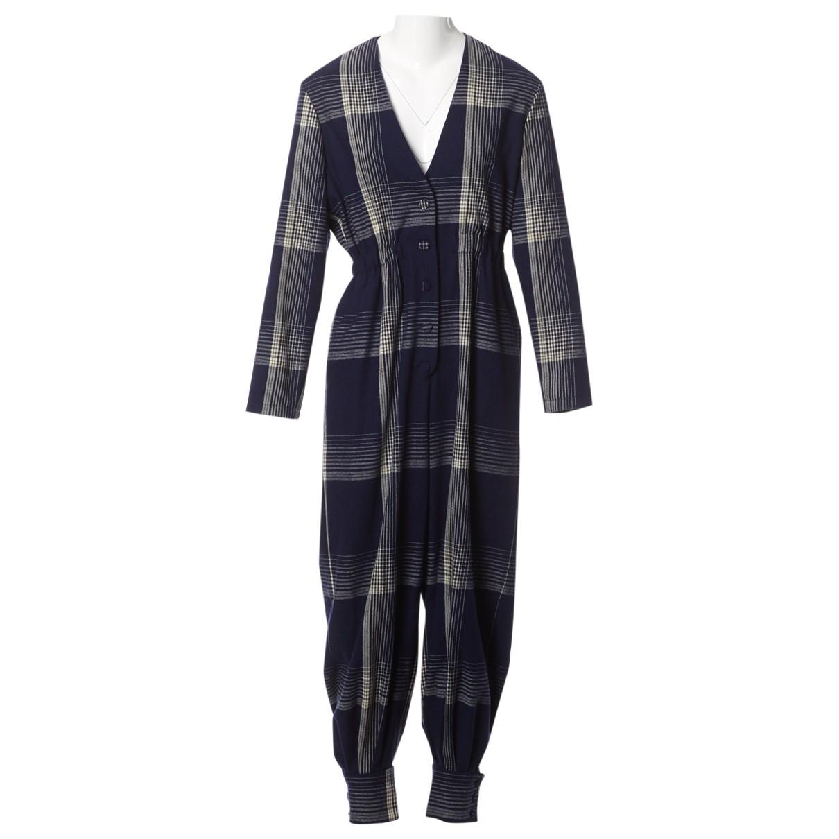 Gucci - Combinaison   pour femme en laine - bleu