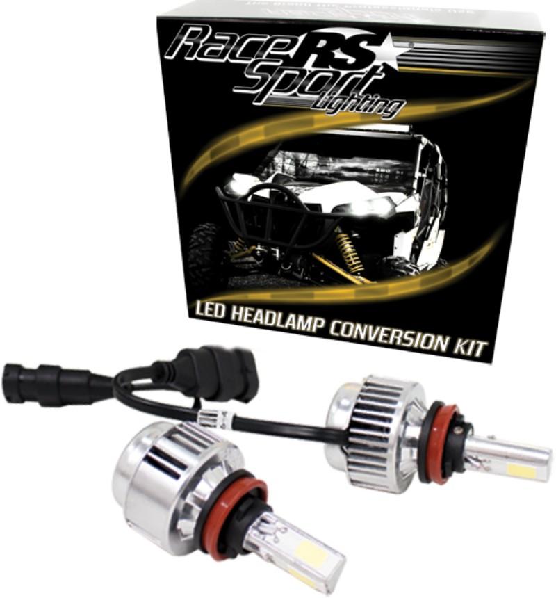 Race Sport Lighting 9006LED3S 9006 3-Sided Driverless LED Headlight Kit 2,000 Lux OEM Kelvin Color