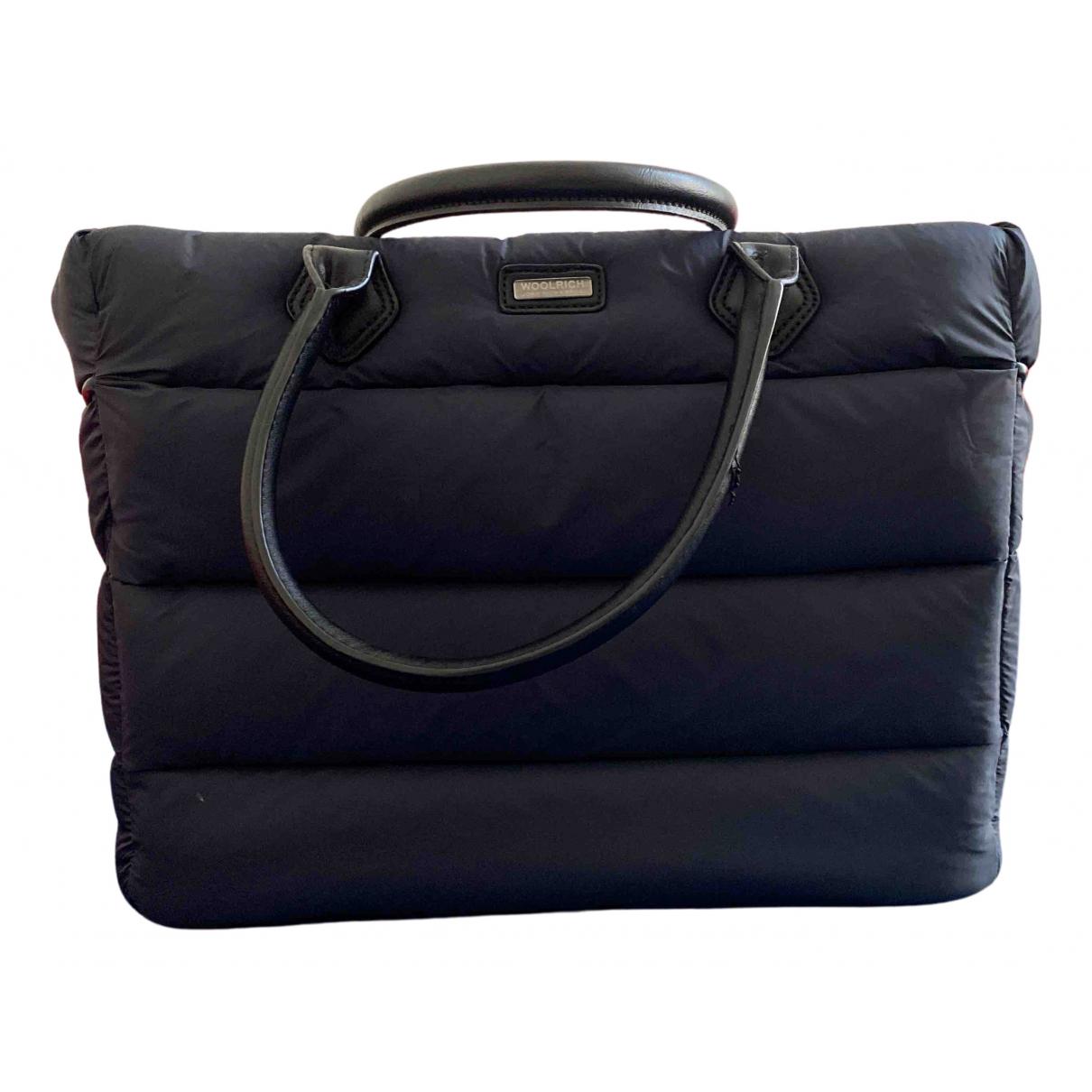 Woolrich \N Handtasche in  Blau Polyester