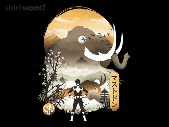 Mastodon Ranger T Shirt