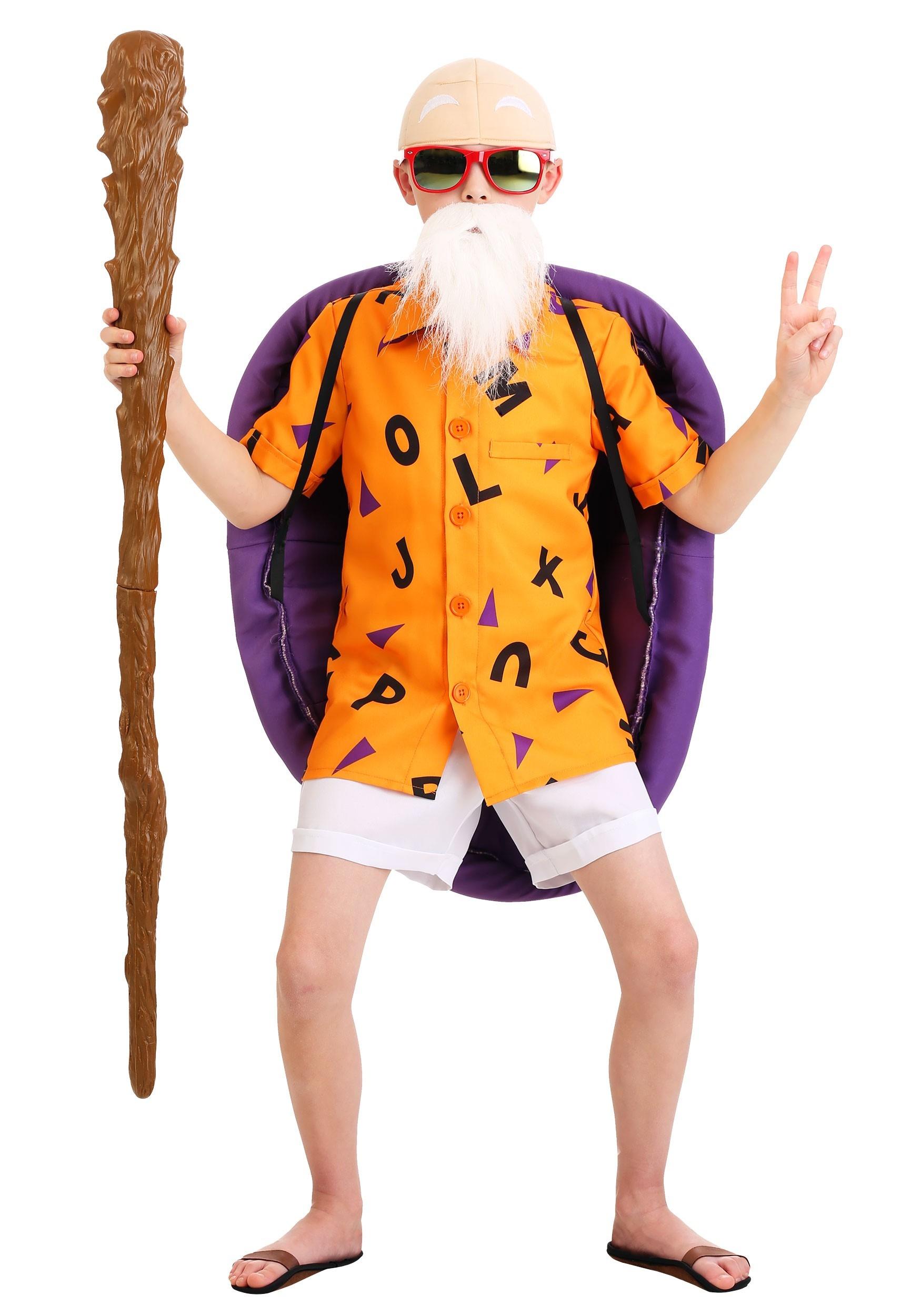 Dragon Ball Z Master Roshi Costume for Kids