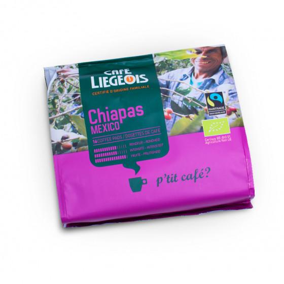 "Kaffeepads Cafe Liegeois ""Chiapas"", 16 Stk."