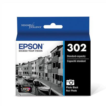 Epson T302120 cartouche d'encre originale photo noire