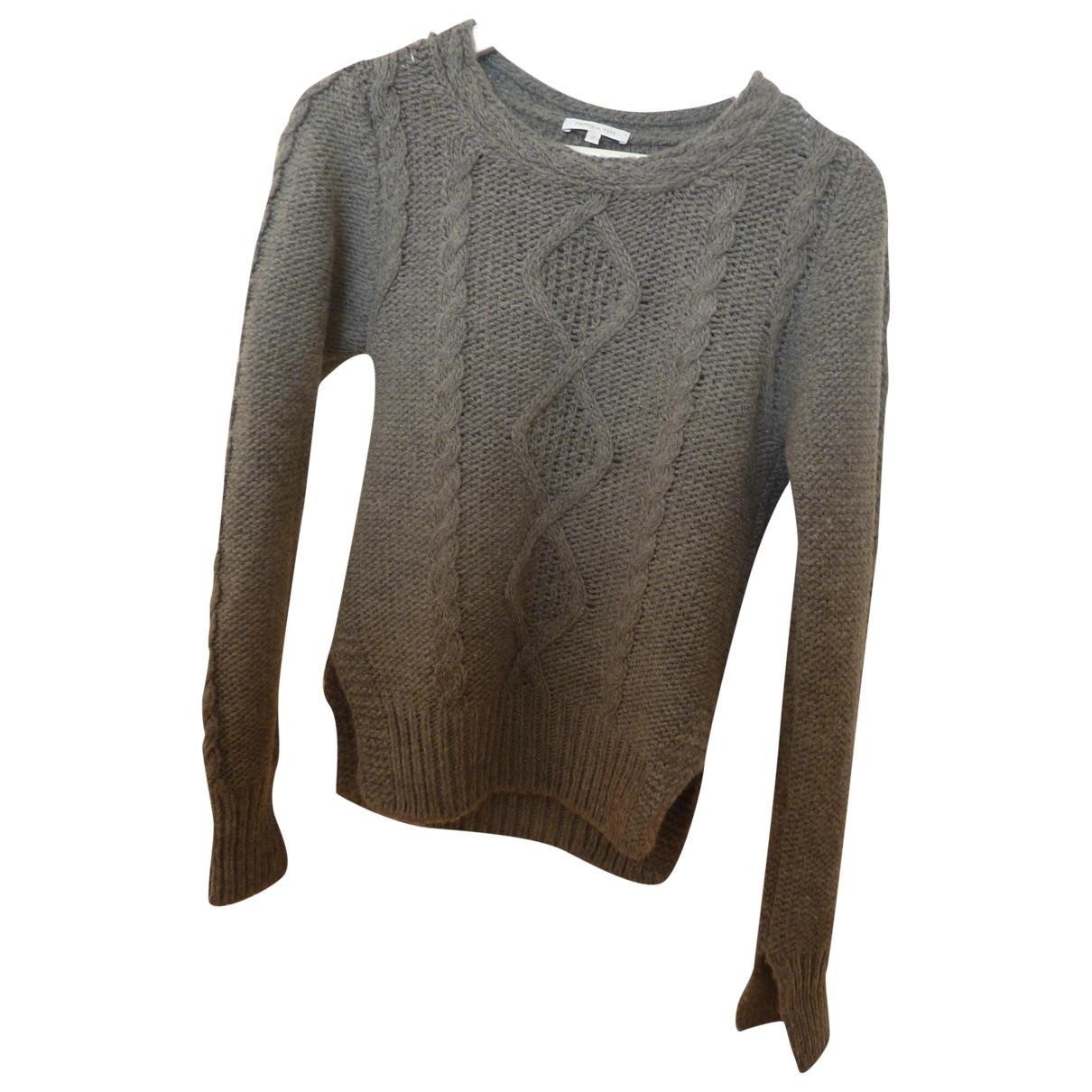 Patrizia Pepe \N Pullover in  Grau Wolle
