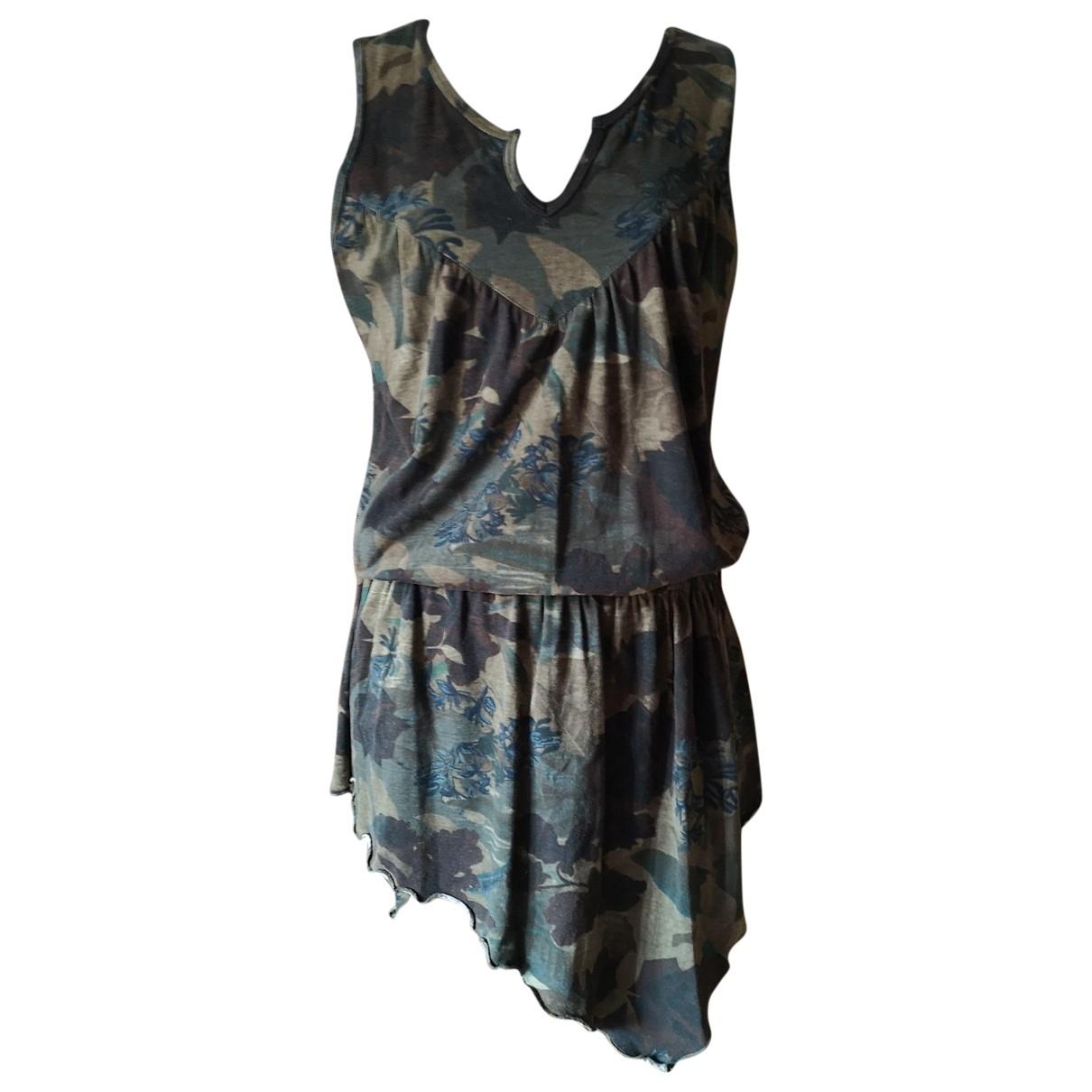 Dior \N Kleid in  Bunt Baumwolle - Elasthan