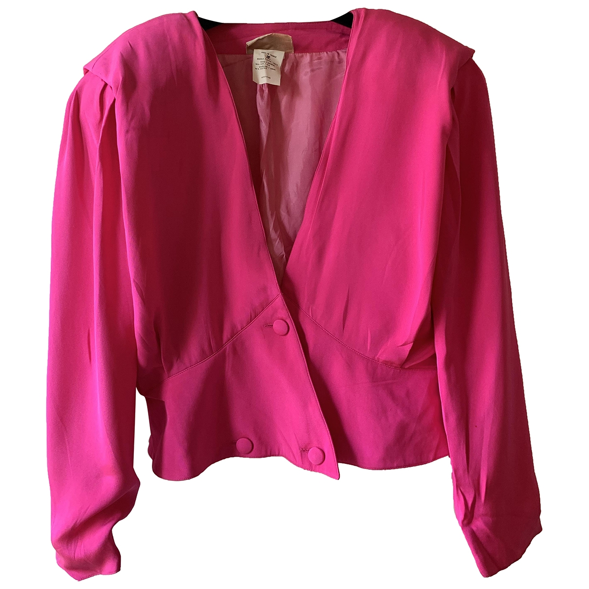 Courrèges \N Silk jacket for Women 38 FR