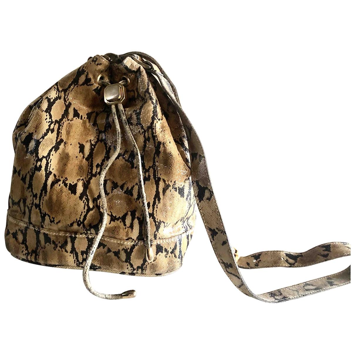 Non Signé / Unsigned \N Beige Crocodile handbag for Women \N