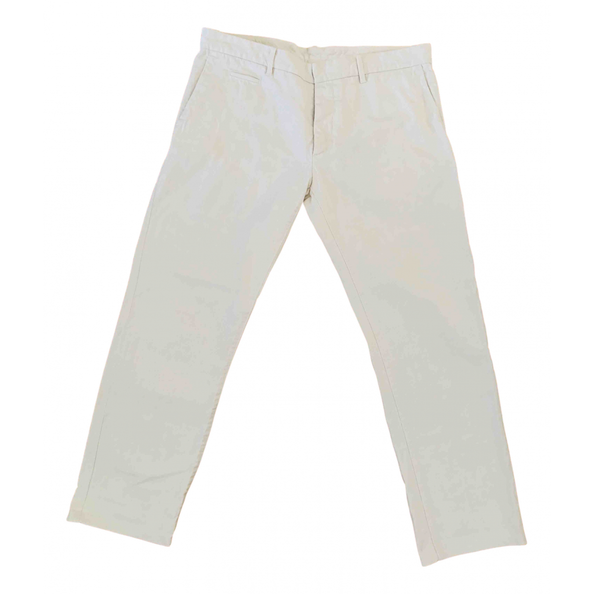 Pantalones en Denim - Vaquero Blanco Jil Sander