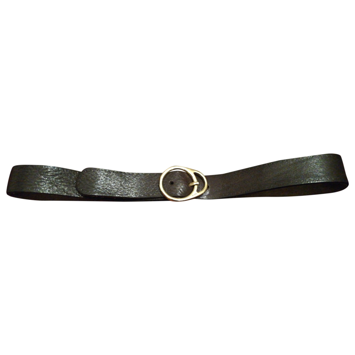 Gucci \N Brown Leather belt for Women 90 cm