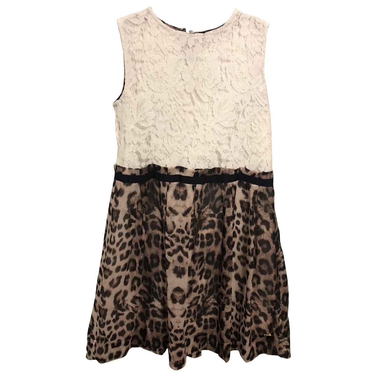 Roberto Cavalli \N Beige Cotton dress for Kids 10 years - up to 142cm FR