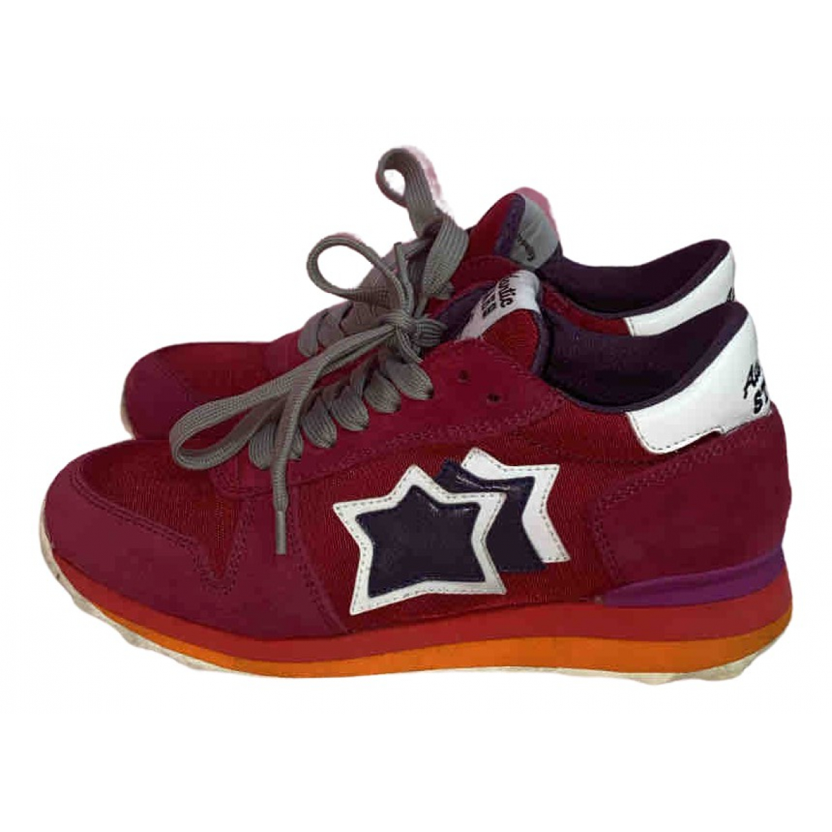Atlantic Stars \N Sneakers in  Rosa Veloursleder