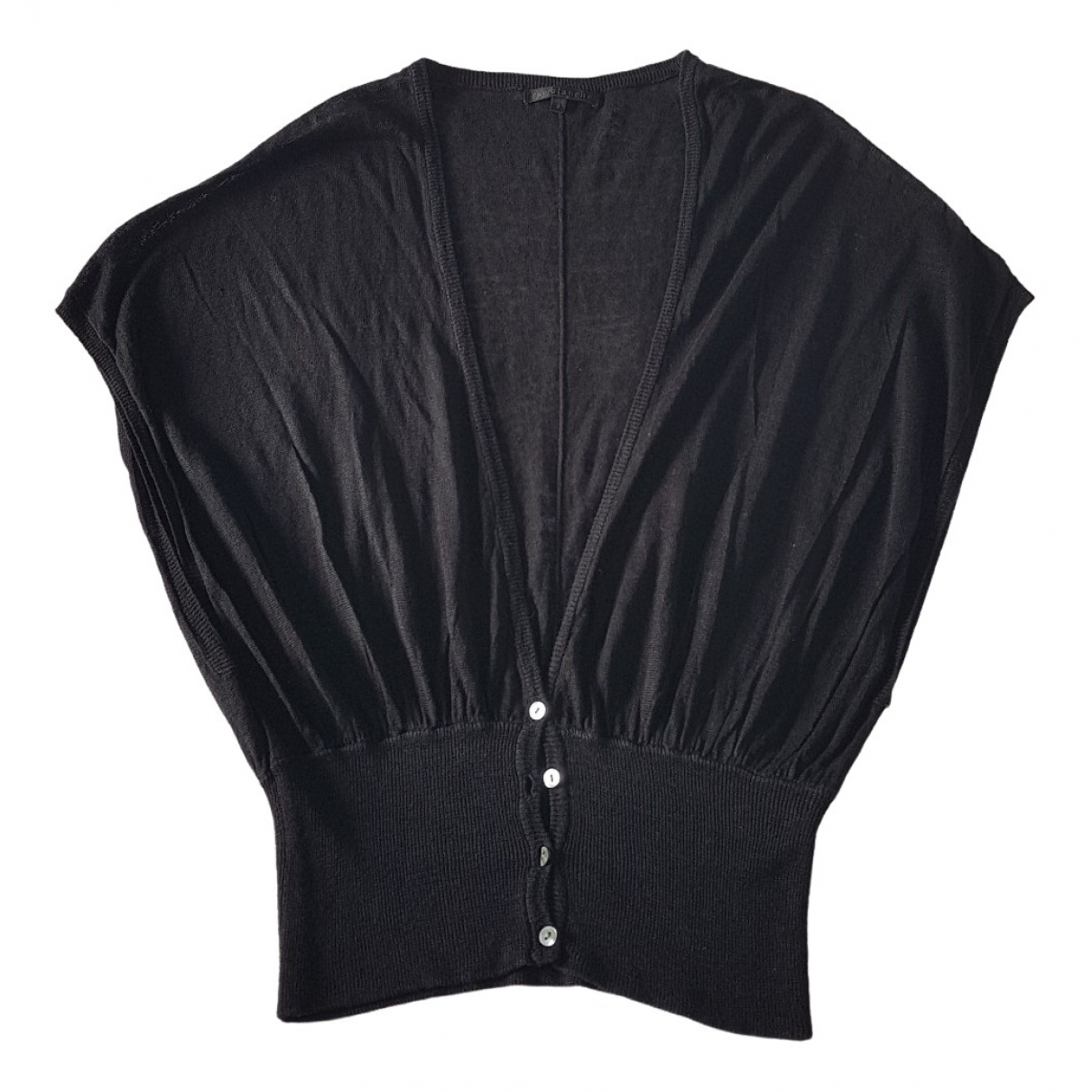 Rue Blanche \N Black Linen  top for Women 40 FR