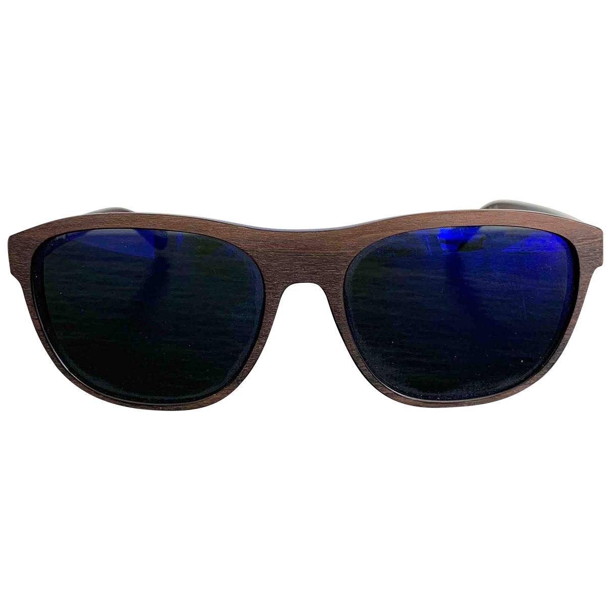 Etnia Barcelona \N Sonnenbrillen in  Braun Holz