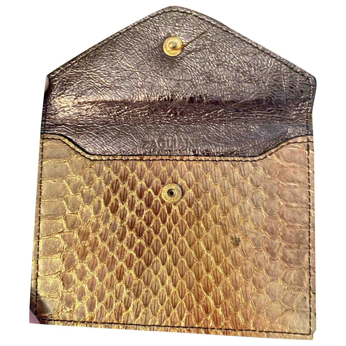 Non Signé / Unsigned \N Camel Crocodile Purses, wallet & cases for Women \N