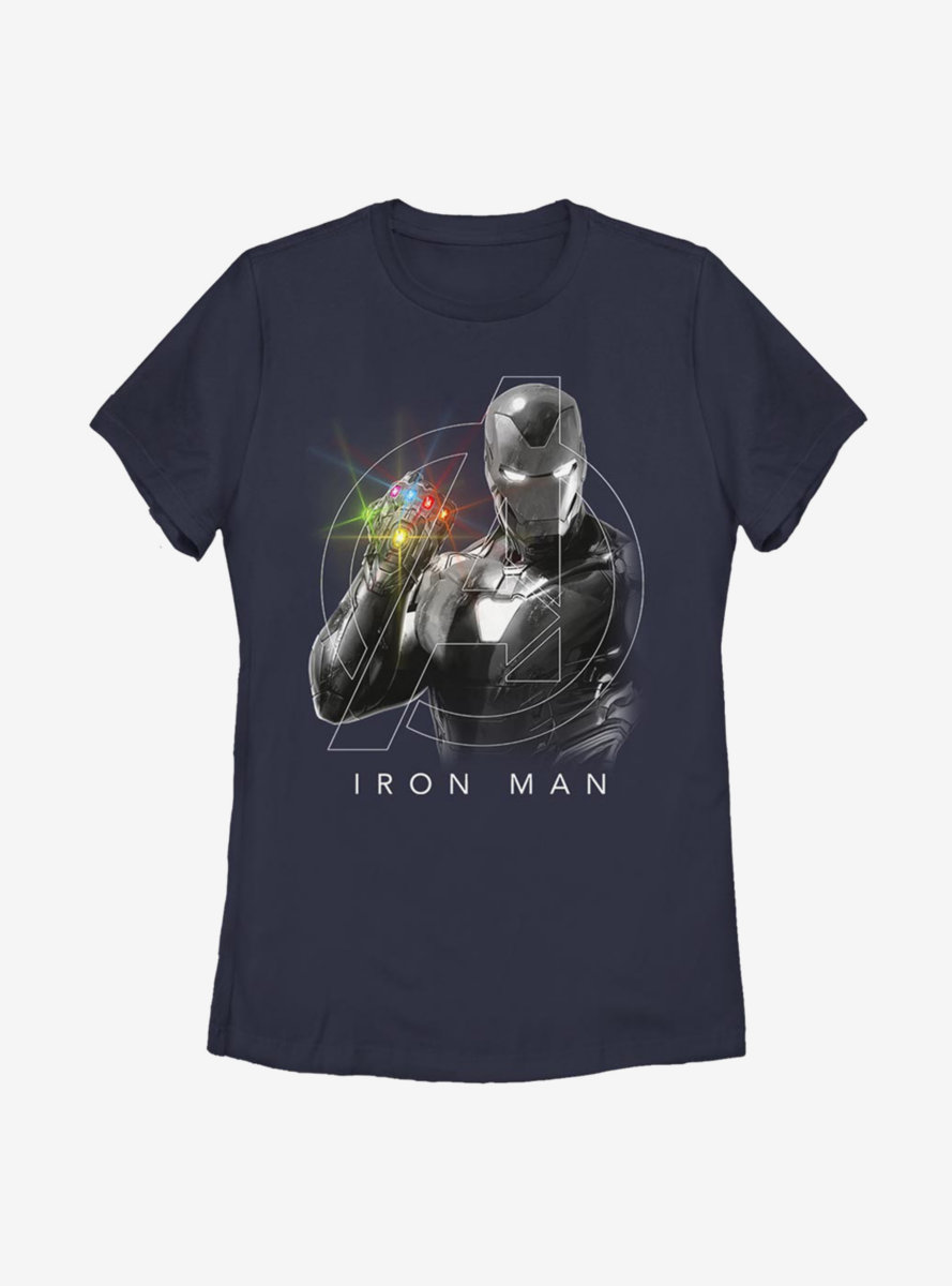 Marvel Iron Man Only One Womens T-Shirt