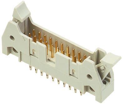 HARTING , SEK 18, 16 Way, 2 Row, Straight PCB Header