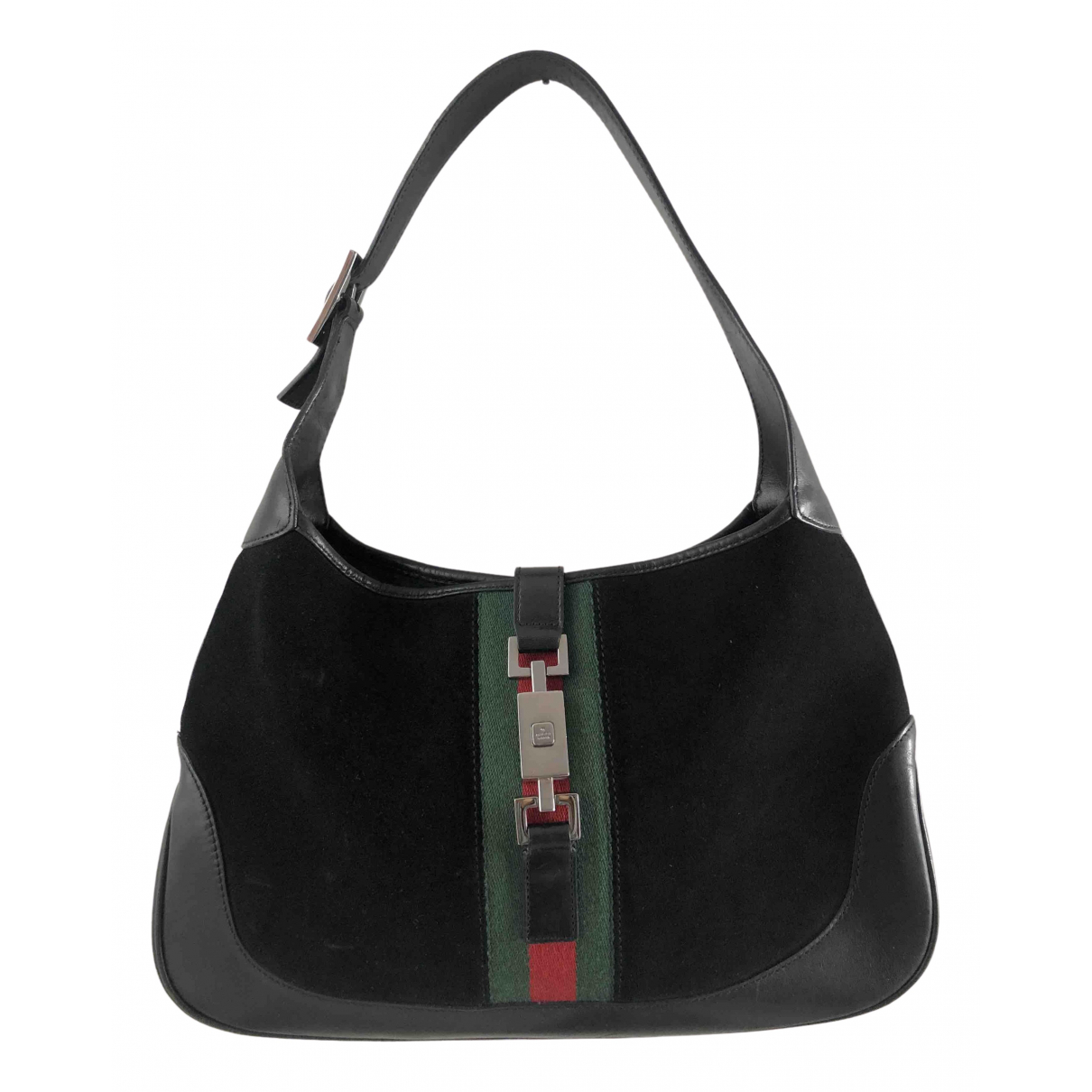 Gucci Jackie Black Suede handbag for Women N