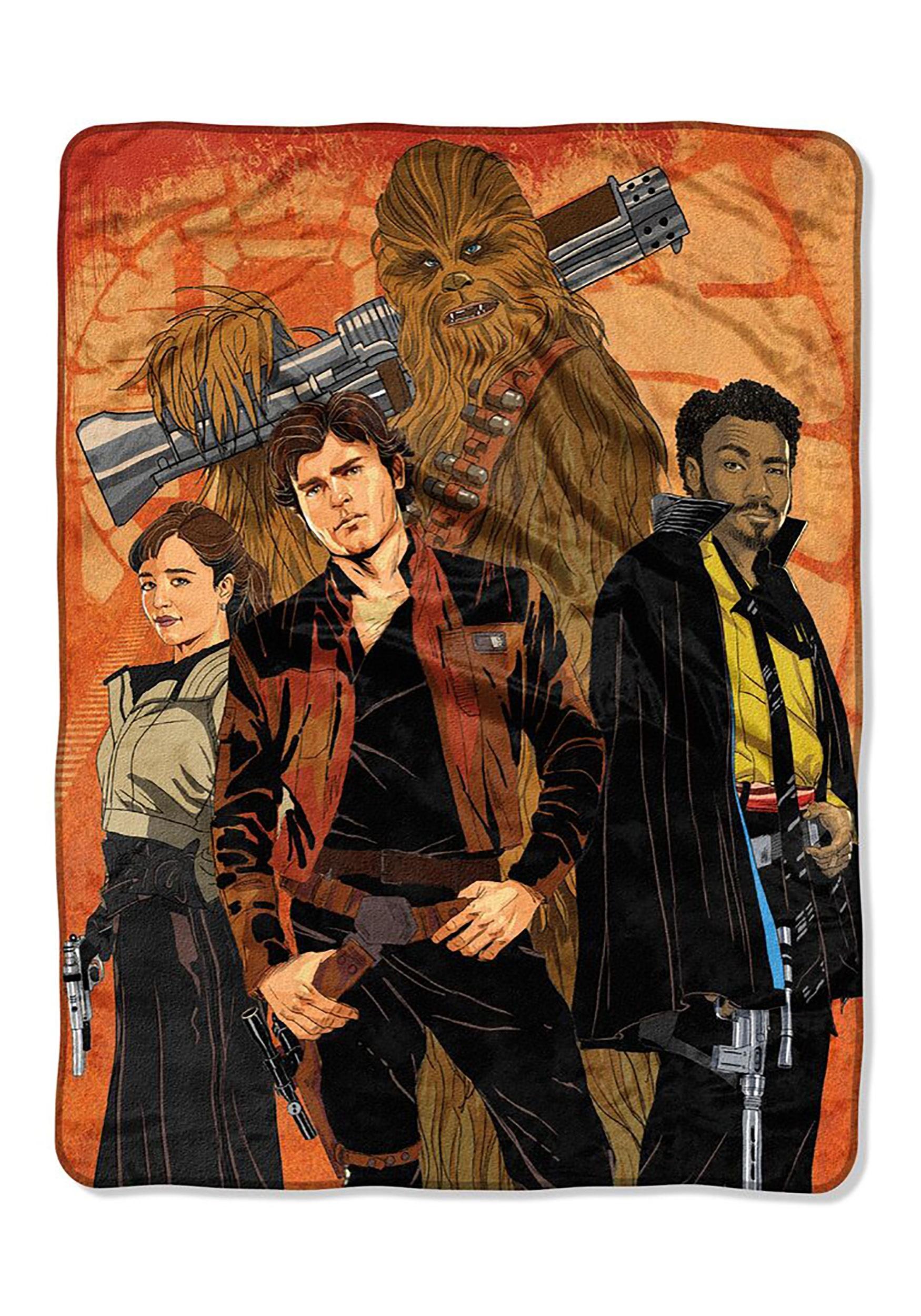 Star Wars Han Solo Galactic Swag Super Soft Throw