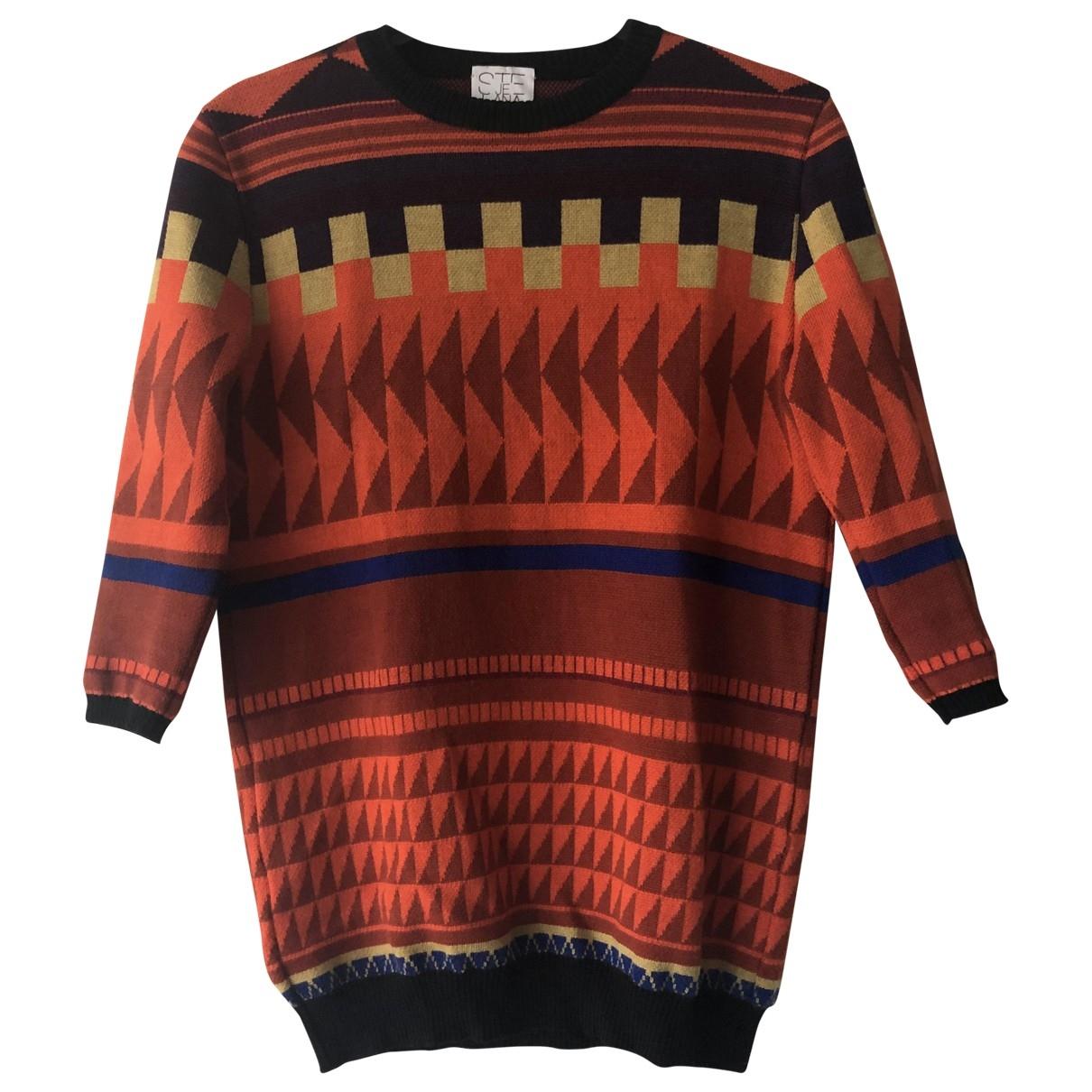 Stella Jean - Pull   pour femme en laine - multicolore