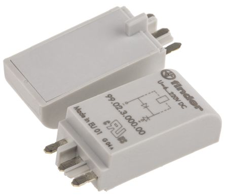 Finder , 230V dc Interface Relay Module, Plug In (2)