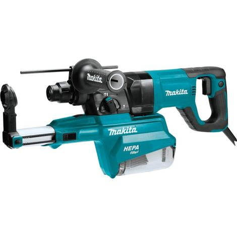 Makita 1 In. Avt® Rotary Hammer, Accepts SDS-Plus Bits, w/ Hepa Dust Extractor (D-handle)