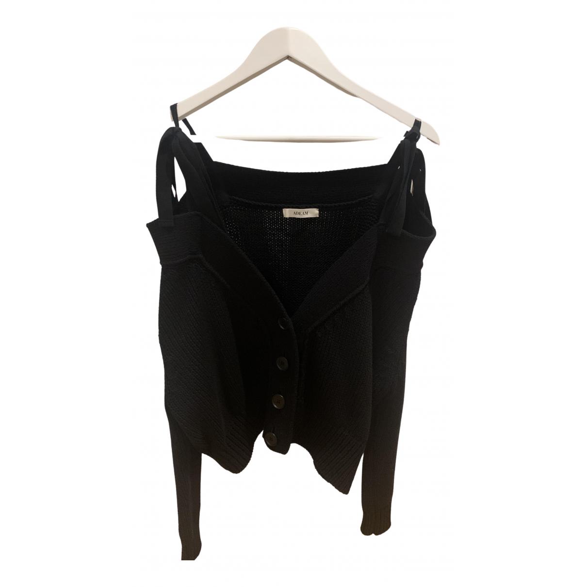 Adeam - Pull   pour femme en laine - noir
