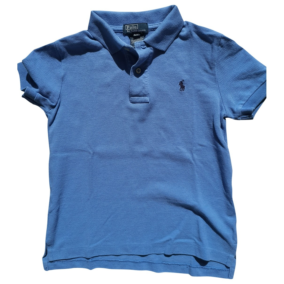 Polo Ralph Lauren \N Blue Cotton  top for Kids 4 years - until 40 inches UK