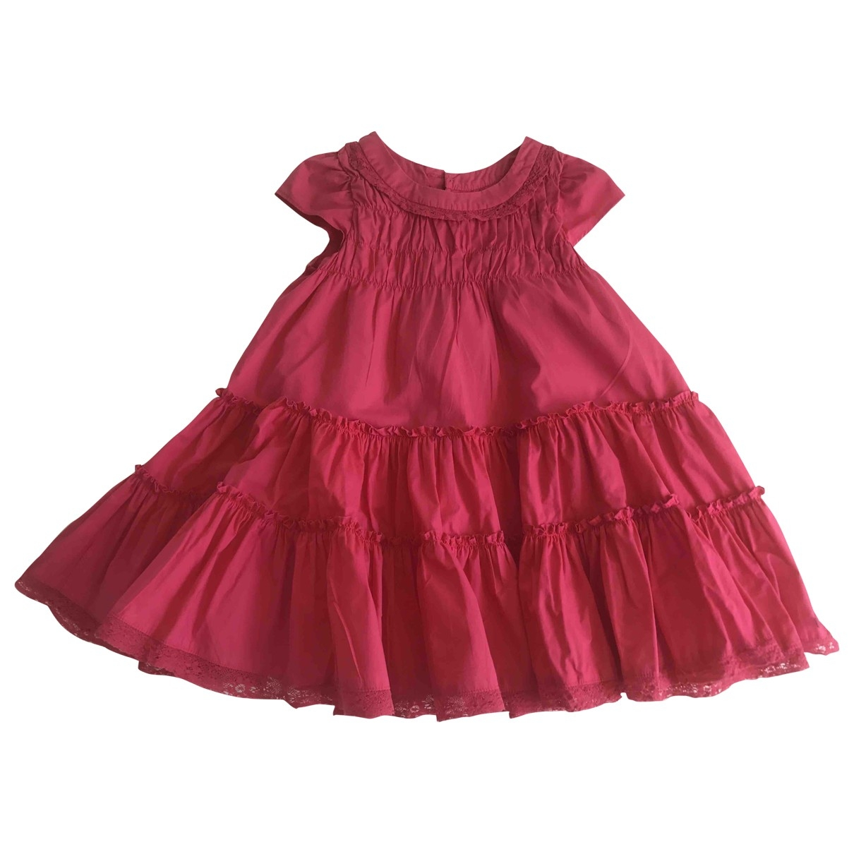 Lili Gaufrette \N Pink Cotton dress for Kids 5 years - up to 108cm FR