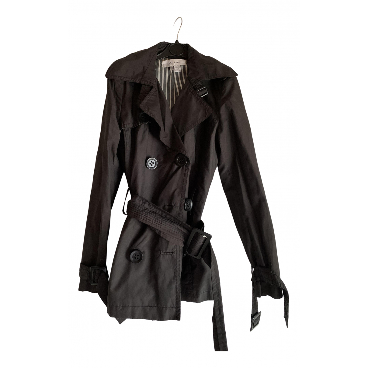 Zara \N Brown Trench coat for Women XS International