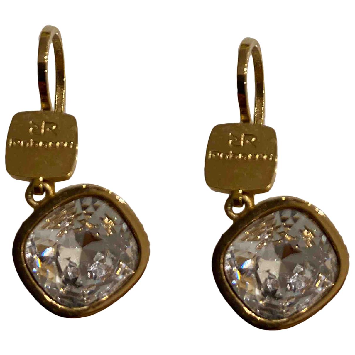 Rebecca \N OhrRing in  Gold Metall