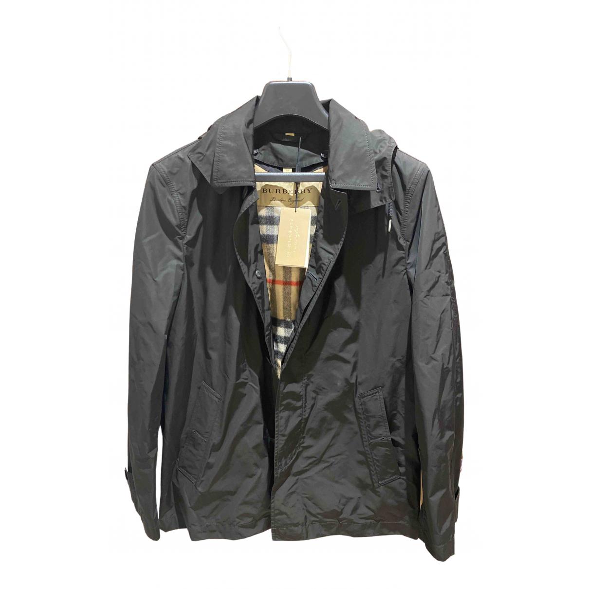 Burberry \N Black jacket  for Men 50 IT