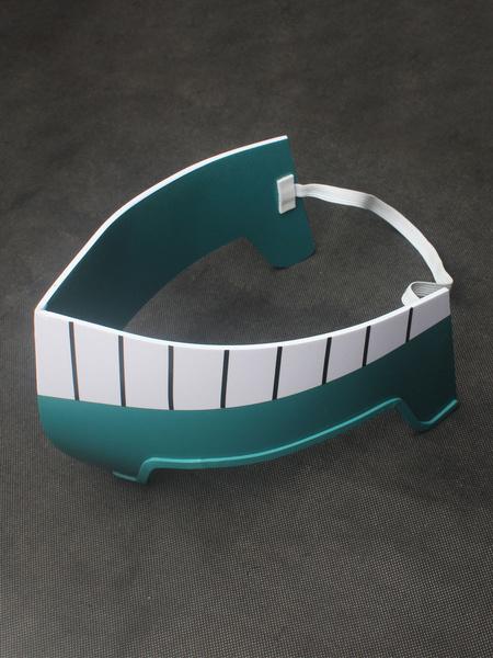 Milanoo Deku Cosplay Boku No Hero Academia Cosplay Midoriya Izuku Light Gray Mask Cosplay Accessories
