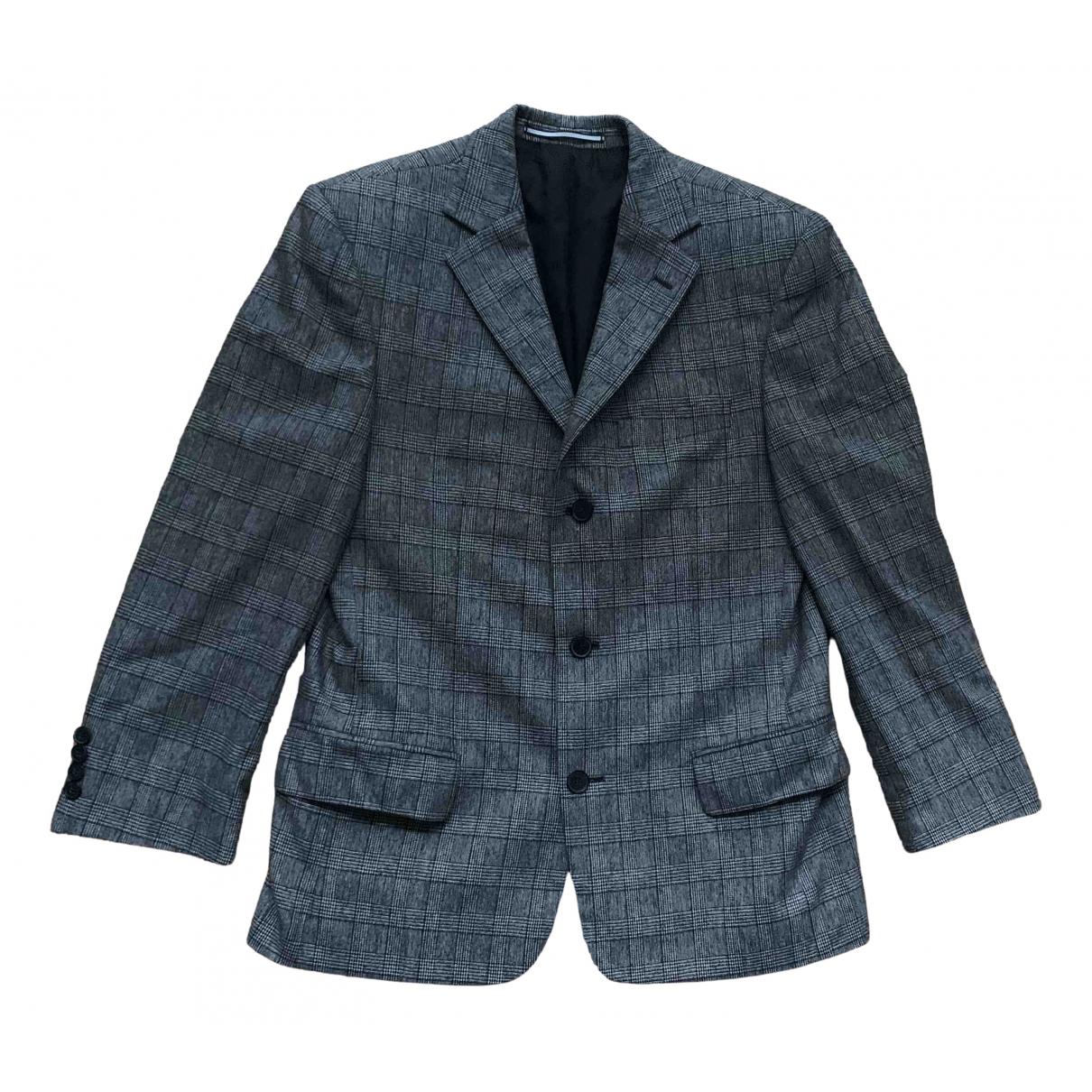 Karl Lagerfeld - Vestes.Blousons   pour homme en laine - gris