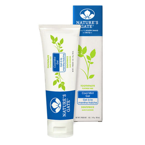 Toothpaste Cool Mint Gel 5 Oz by Natures Gate
