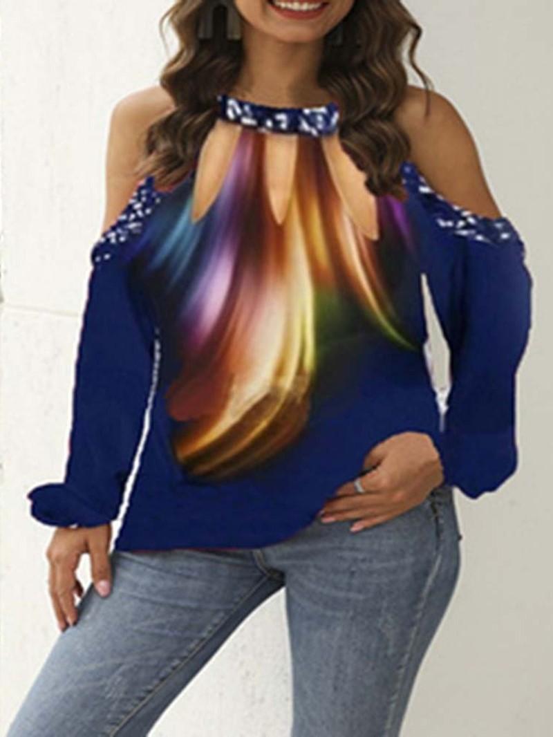 Ericdress Long Sleeve Standard Casual Loose Womens T-Shirt