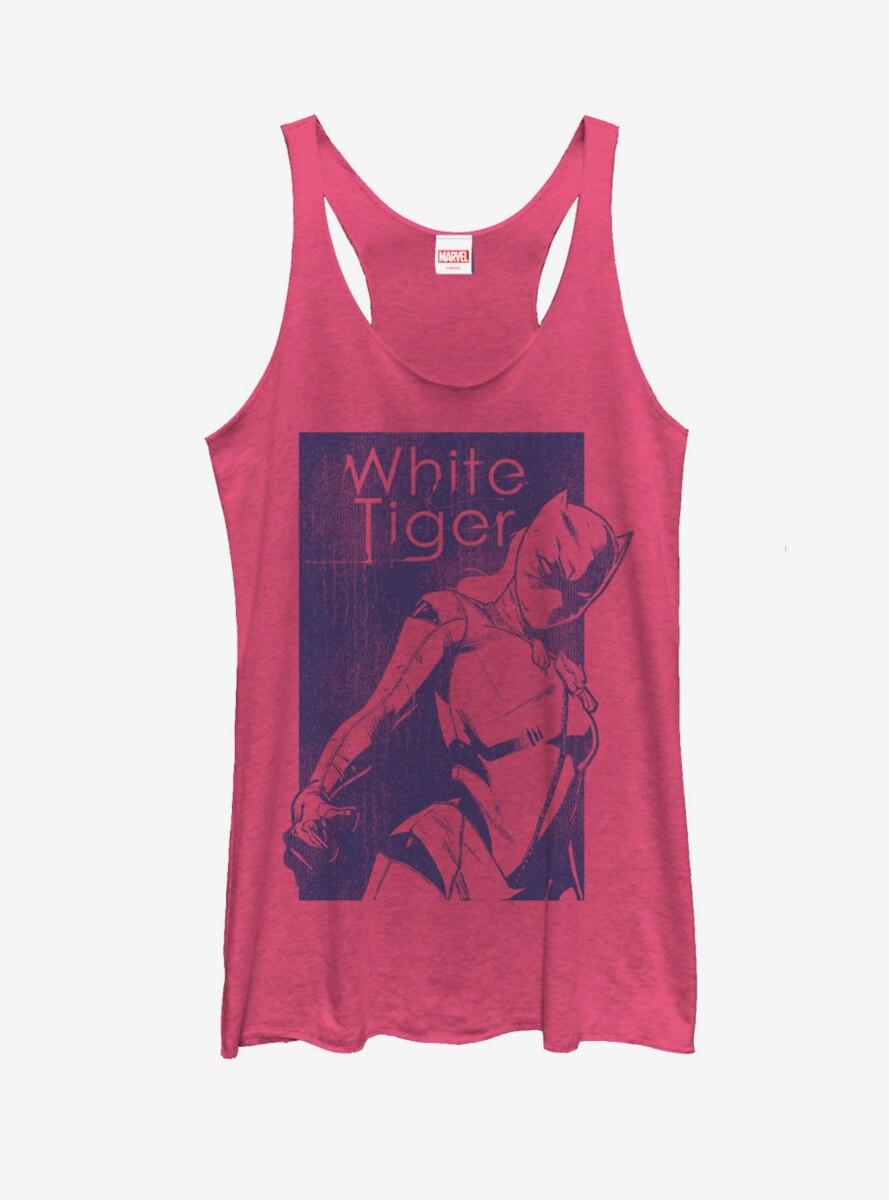 Marvel White Tiger Amulet Womens Tank