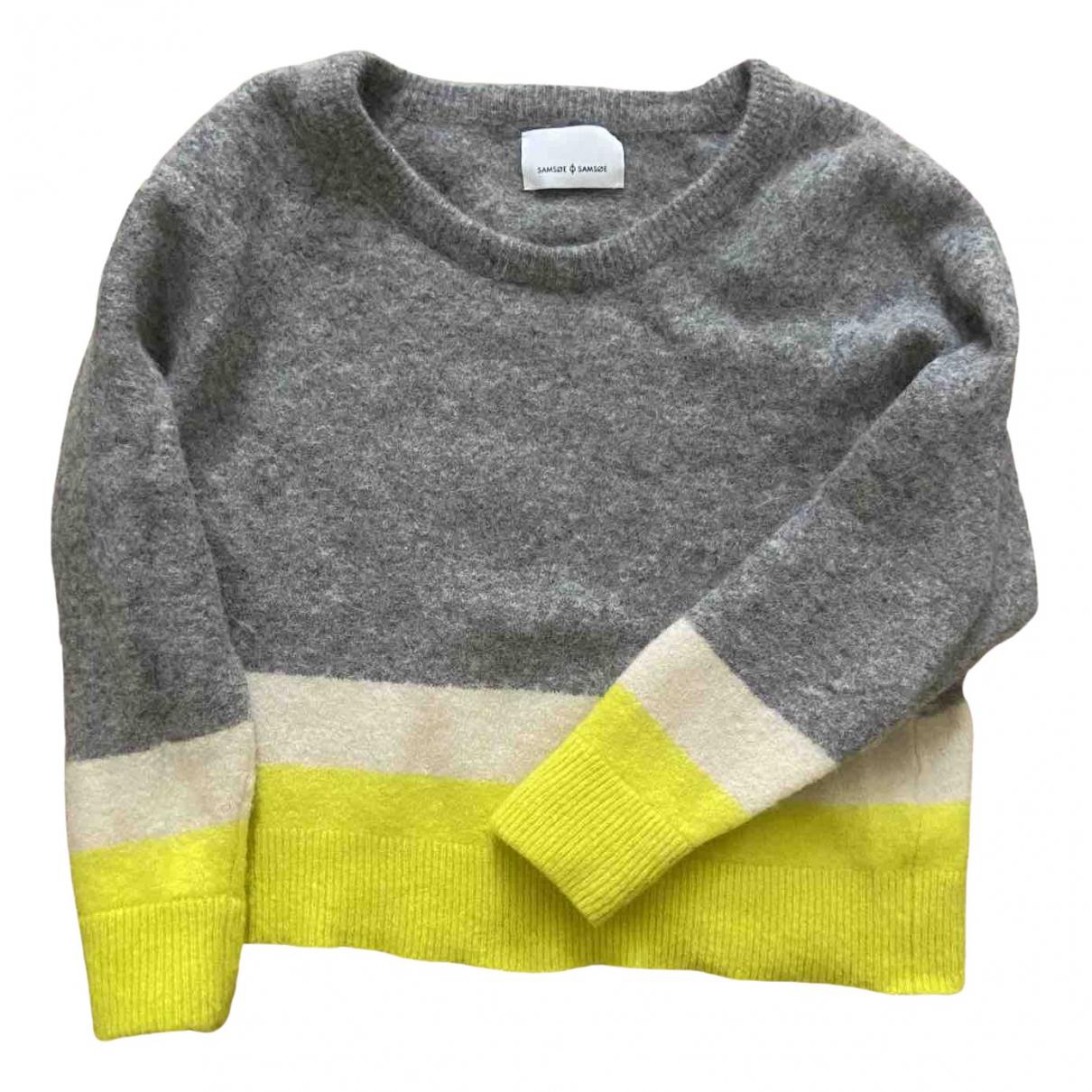 Samsoe & Samsoe \N Grey Wool Knitwear for Women 40 FR