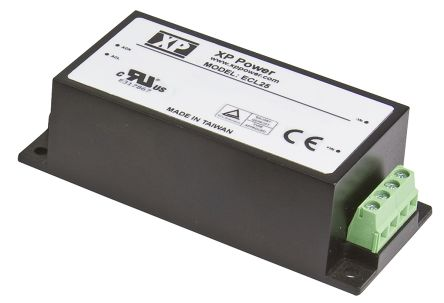 XP Power , 25W AC-DC Converter, 15V dc, Encapsulated