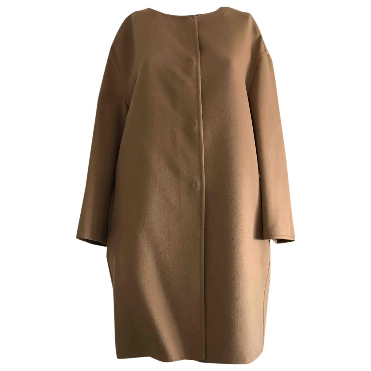 Prada - Manteau   pour femme en cachemire - camel