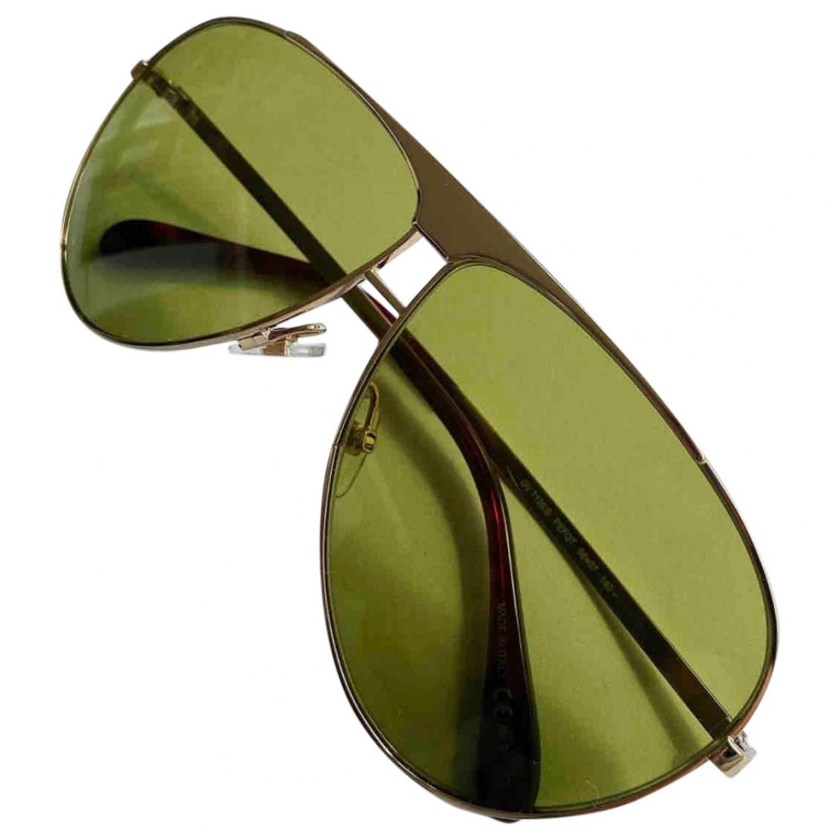 Givenchy - Lunettes   pour femme en metal - dore