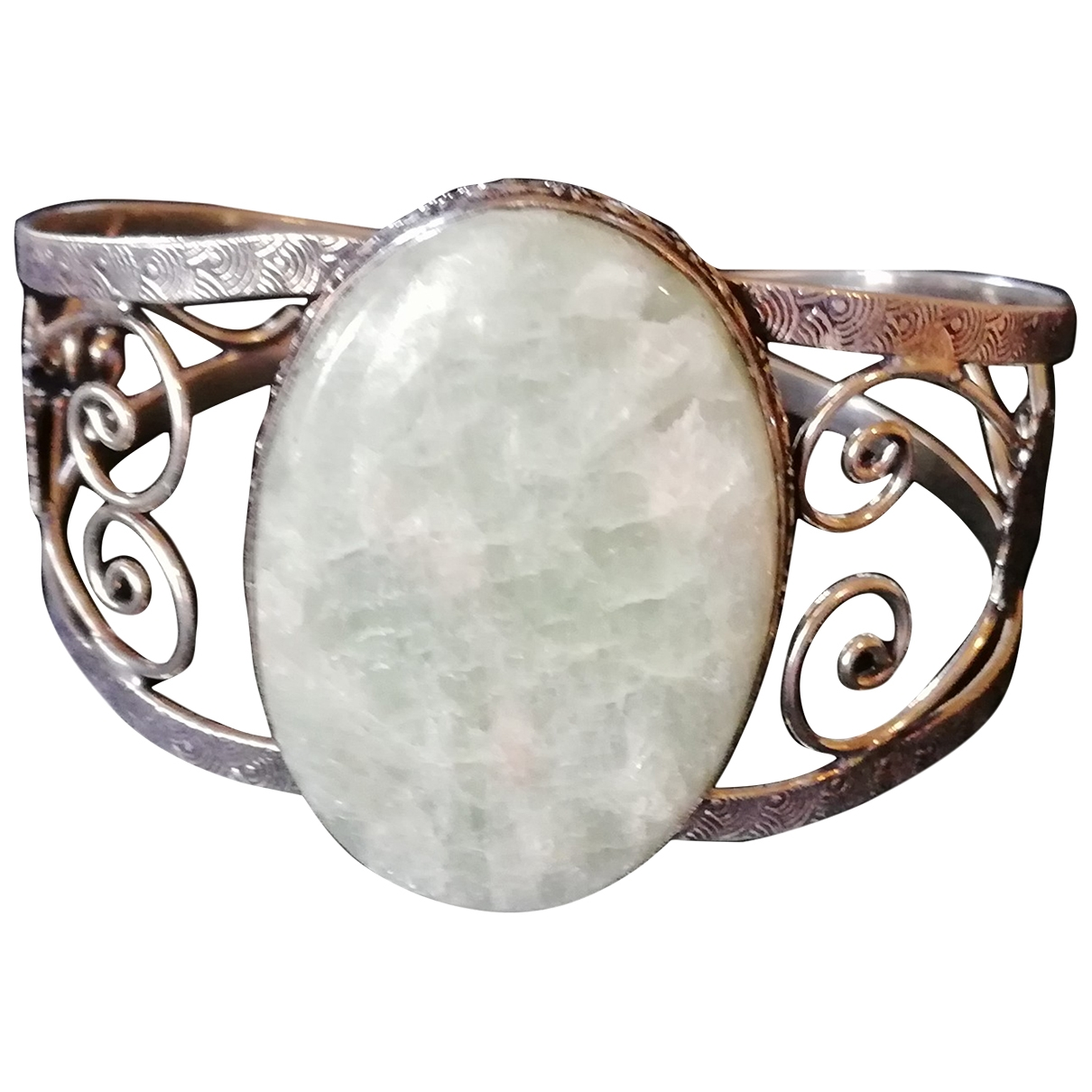 Non Signe / Unsigned \N Armband in  Silber Silber