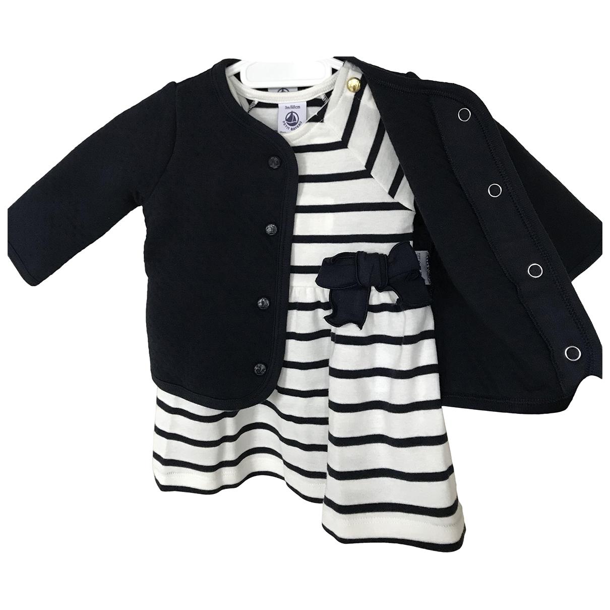 Petit Bateau - Robe    pour enfant en coton - multicolore