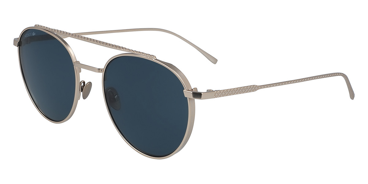 Lacoste L216S 714 Men's Sunglasses Gold Size 52