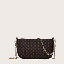Geometrische Grafikkette Einkaufstasche