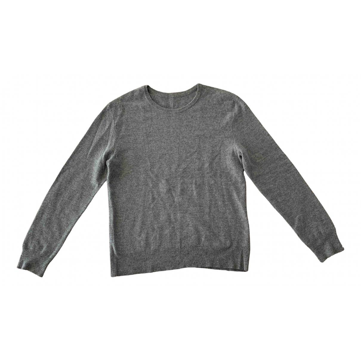 The Elder Statesman \N Pullover.Westen.Sweatshirts  in  Grau Wolle